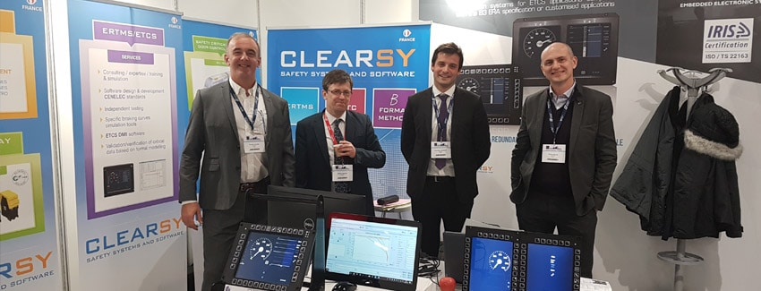 CLEARSY, Global Conference on Signalling : the Evolution of ERTMS