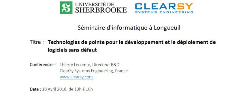 Technologies de pointe pour le développement et le déploiement de logiciels sans défaut Montreal