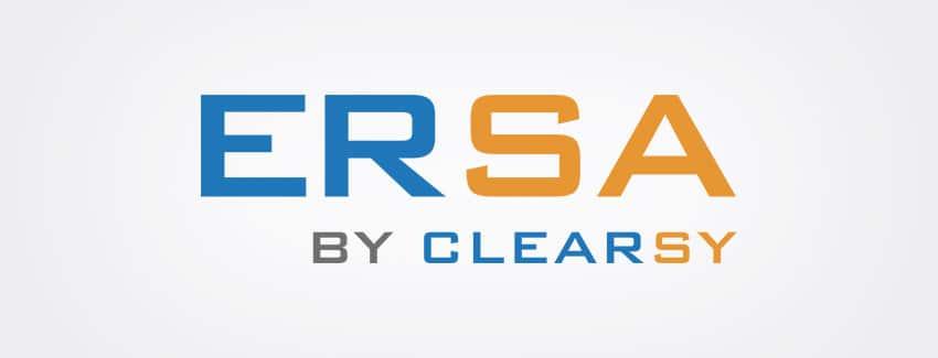 Logo ERSA by CLEARSY