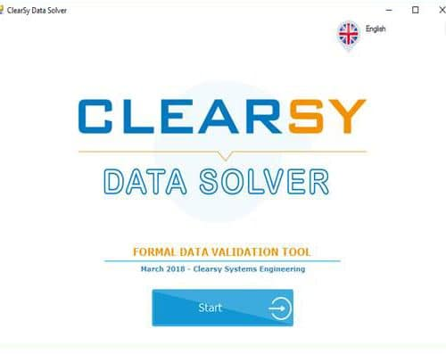 Interface Clearsy Data Solver