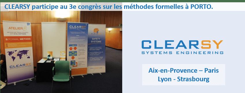 third world congress on formal methods Porto