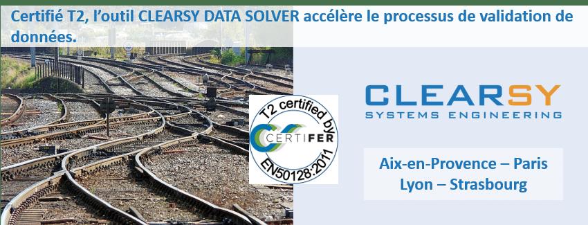 CLEARSY DATA SOLVER Certifié T2