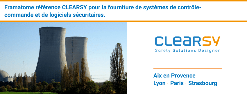 AGREMENT FRAMATOME pour CLEARSY