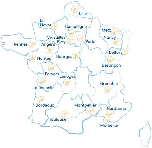 Enseignement de la MÉTHODE B en France