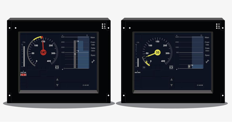 Interface homme-machine DMI ERTMS