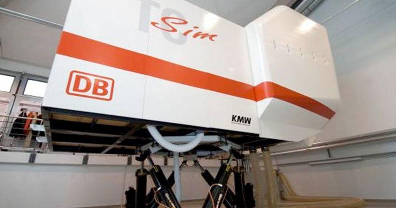 Simulateur opérationnel intégré à un simulateur dynamique sur verrin