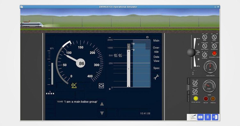 Simulateur de trafic ERTMS/ETCS