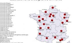 Etablissements enseignant B en France