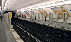 The revolution of the oldest Parisian Metro line.