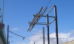 Rapid Recharging Tramway System